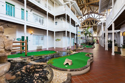 Mini Golf in the Courtyard
