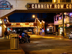 Cannery Row At Night Viii