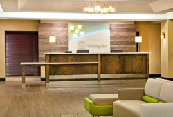 Newly Renovated Holiday Inn Presidential Little Rock Guest Lobby