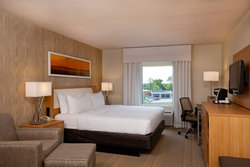 Newly Renovated Holiday Inn Presidential Little Rock King Guestroom