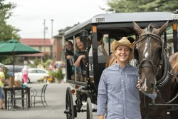 Caleb And Horse Buggy