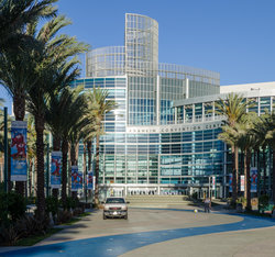 Anaheim Convention Center Back View