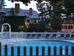 Exterior Pool Twilight