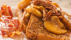 Breakfast Plate French Toast Pick
