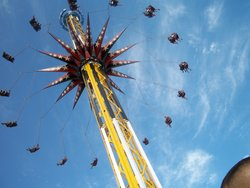 Sky Screamer At Six Flags Fiesta Texas