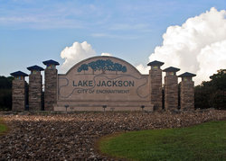 Ciry of Lake Jackson Sign