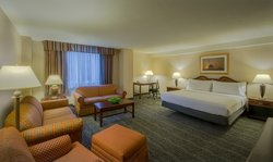 Upgrade to a King Executive room for more space