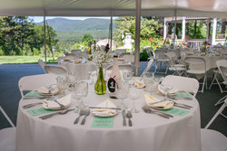 Wedding Table Tent