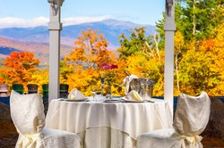 Wedding Table Mount Washington