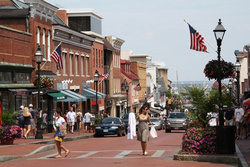 Shopping on Main Street in Annapolis