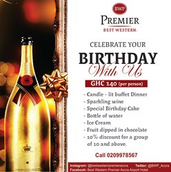 Bwp Birthday Package
