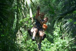 Canopy Tour Tikal National Park