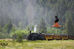 Durango Train and Soaring Colorado
