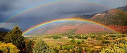 Rainbow in the Animas Valley