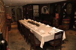 Harry Brown's Wine Cellar Private Dining Room