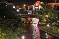 OKC Bricktown Canal At Night