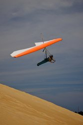 Gliding Off Jockey S Ridge