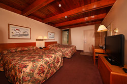Two Double Beds (Motel unit)