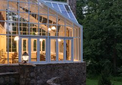 The Conservatory in Evening
