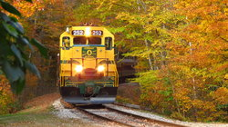 Conway Scenic Railway, Arethusa Falls Trail, Hart S Location