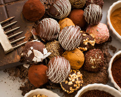 Recipe Basic Ganache Truffles