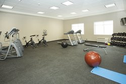 Fitness Center From Entrance