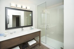 Standard King Bathroom With Glass Shower