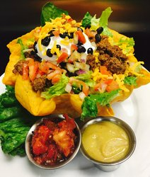 Taco Salad With Sides