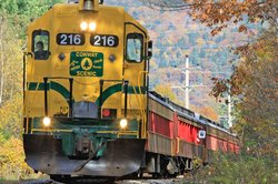 Ride the Conway Scenic Railroad