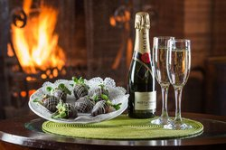 Romance Their Heart with Champagne & Chocolates