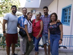 With the sweet family from Moscow !!