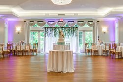 Wedding Ballroom with Cake