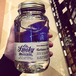 Moonshine from Ole Smoky Distillery