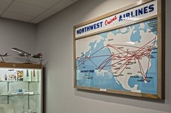 Northwest Airlines History Center located on the 3rd floor