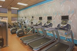 24 Hr Fitness Center at Crowne Plaza near MSP Airport
