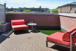 Penthouse Terrace in Saratoga Springs NY