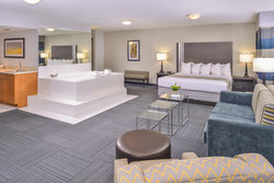 Presidential Suite with King Bed, Sleeper Sofa & Whirlpool