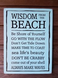 Wisdom from the Beach