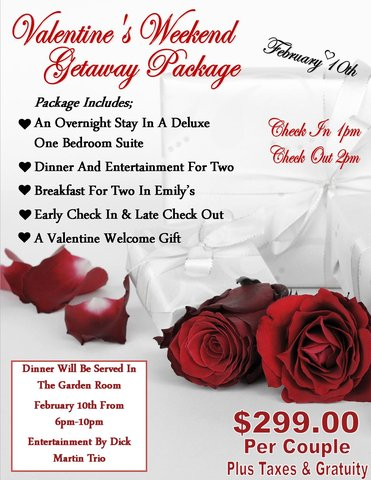 v day package - Valentine Day Hotel Specials