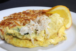 Maryland Crabcake Omelet