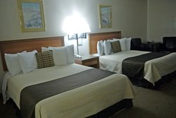 Renovated Room Queen Beds And New Chairs