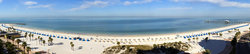 S Clearwater Beach Panorama
