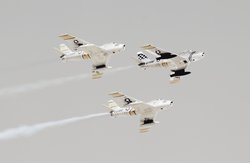 Flying in Formation near Hill AFB