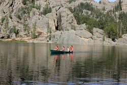 Canoeing in Custer State Park