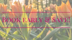 Spring Book Early & Save