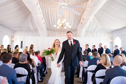 © EmilyFergusonPhotography /Patio Tent / Blennerhassett Weddings