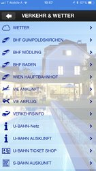 Get actual travel information online for public transport and airplanes