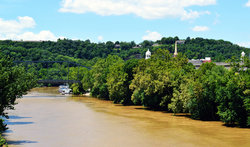 Kentucky River In Frankfort Ny
