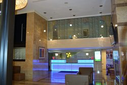 Hotel Lobby and Upstairs Lounge