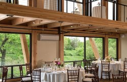 Glasbern Glasloft Two Levels with Banquet and High Top Tables